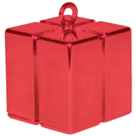 Red Gift Box Weight